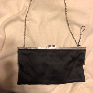 black mini purse